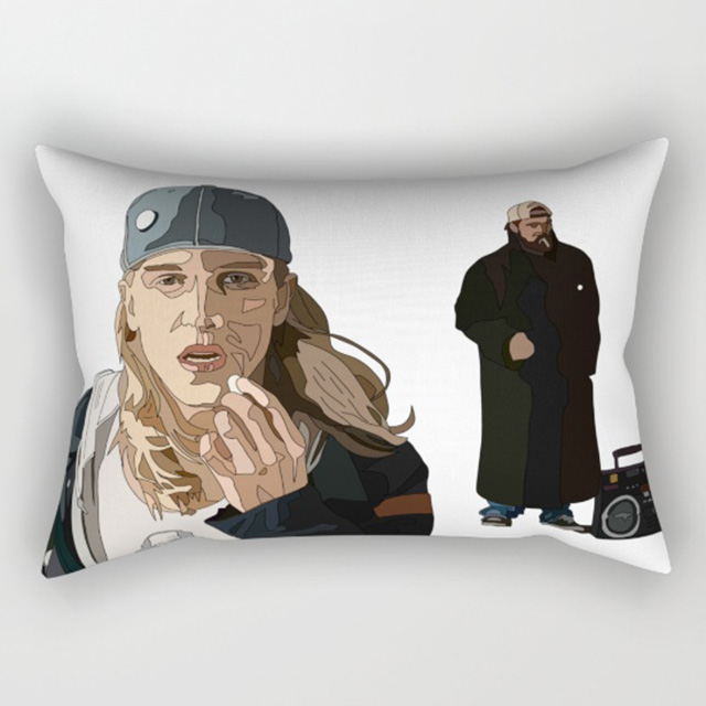 Jay and Silent Bob pillow
