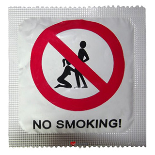 No Smoking Condom