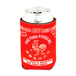 Sriracha Beer Can Holder