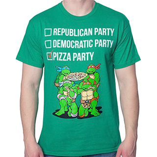 Teenage Mutant Ninja Turtles Ballot Shirt
