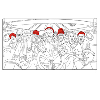 The Life Aquatic Canvas Print