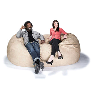 7 Foot Long Foam Sofa Bag