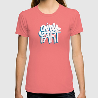 Girls Fart T-Shirt