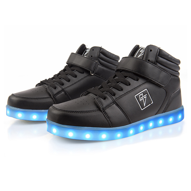 LED High-Top Sneakers