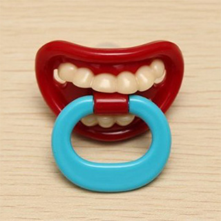 Pacifier with Teeth