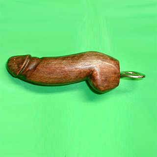 Wooden Dick Bottle Opener