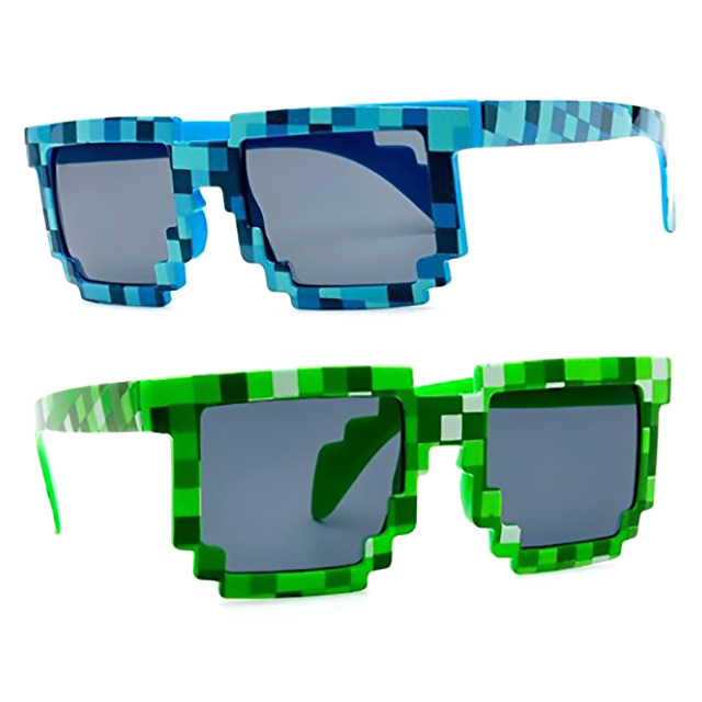8-Bit Pixelated Sunglasses