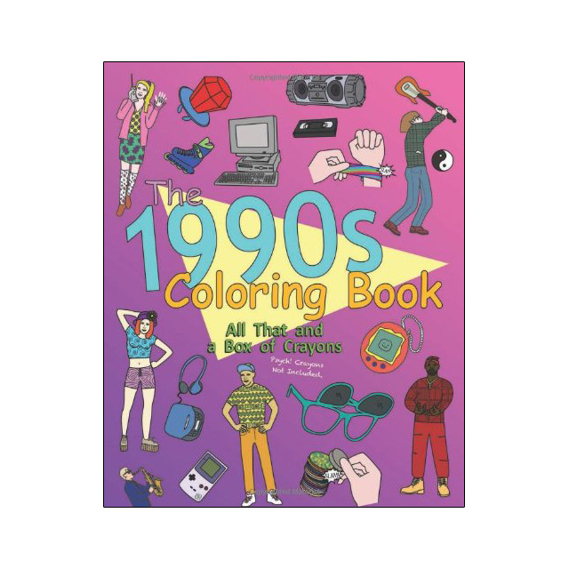 90s Coloring Book Drunkmall