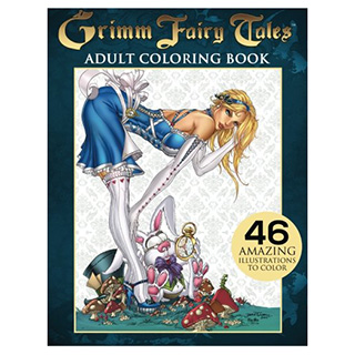 Adult Fairy Tale Coloring Book