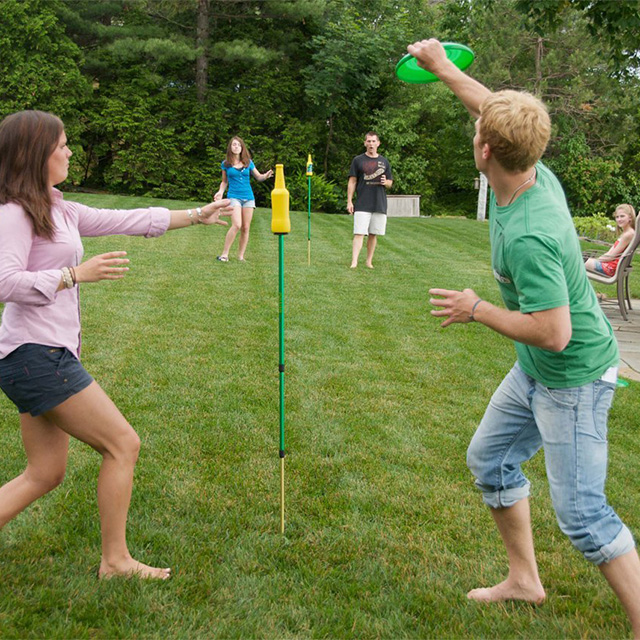 Bottle Bash Pole Game
