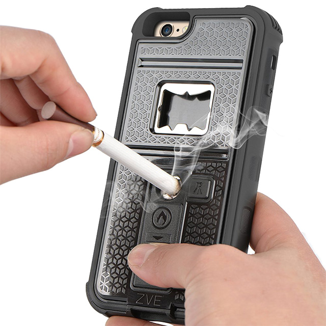 Cigarette Lighter & Bottle Opener Phone Case