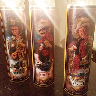 Smokey and The Bandit Prayer Candles
