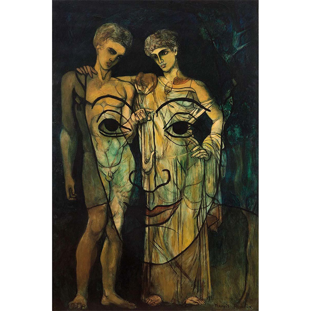 Adam and Eve by Francis Picabia