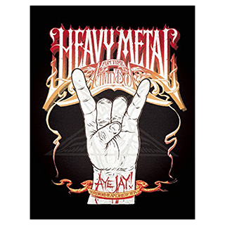 Heavy Metal Activity Book