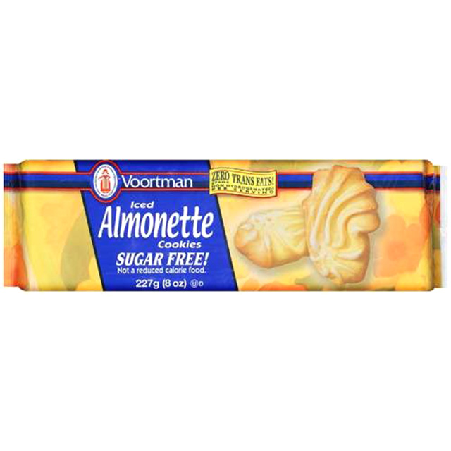 Iced Almonette Cookies