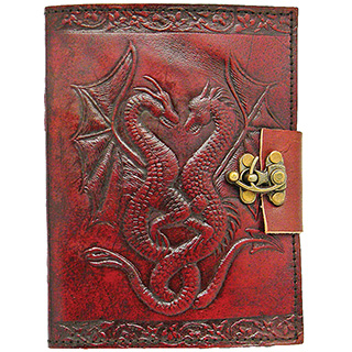 Leather-Bound Dragon Journal