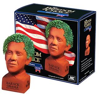 Obama Chia Head
