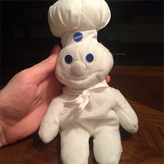 Pillsbury Doughboy Plush Doll