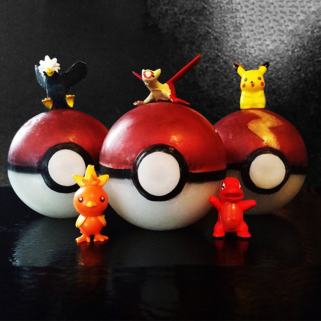 Pokeball Soap w/ Toy Inside