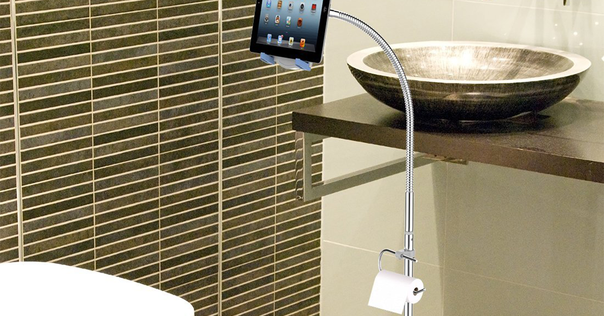 Bathroom Tablet Stand Drunkmall