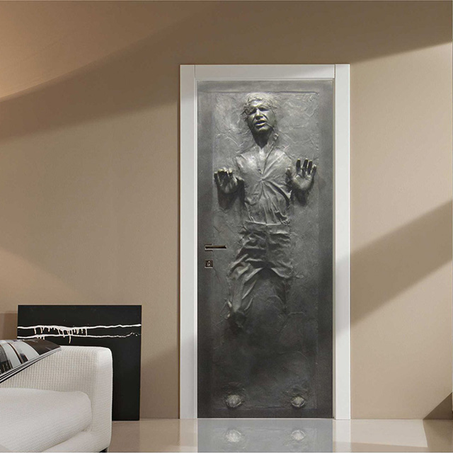 Carbonite Han Solo Wall Decal
