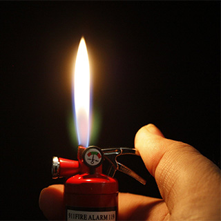 Fire Extinguisher Lighter/Flashlight