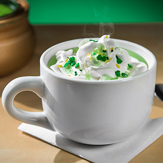 Green Hot Chocolate