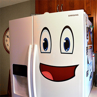 Mr. Fridge Happy Face Magnets