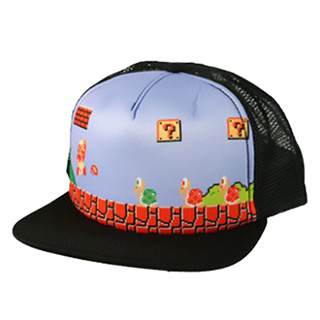 Super Mario Trucker Hat
