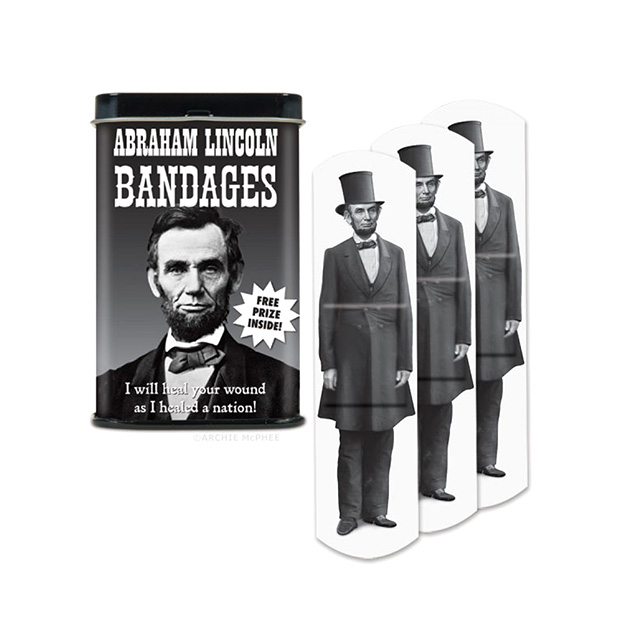Abe Lincoln Bandages