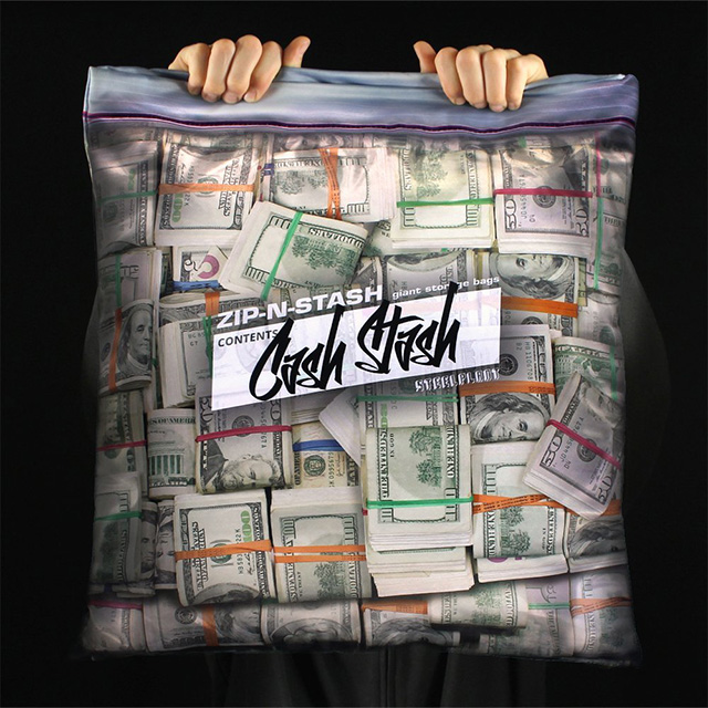 Cash Stash Throw Pillow