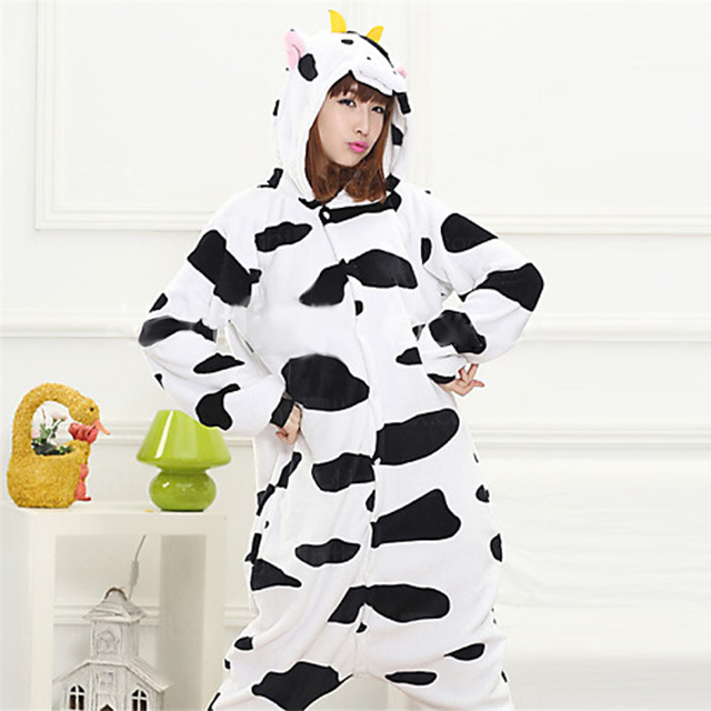 Hooded Cow Onesie