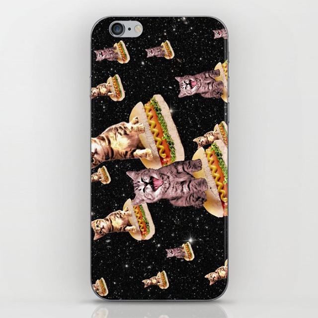 Hot Dog Cats in Space Phone Case