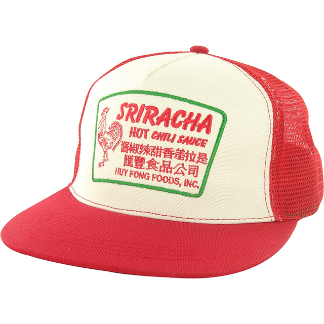 Retro Sriracha Trucker Hat