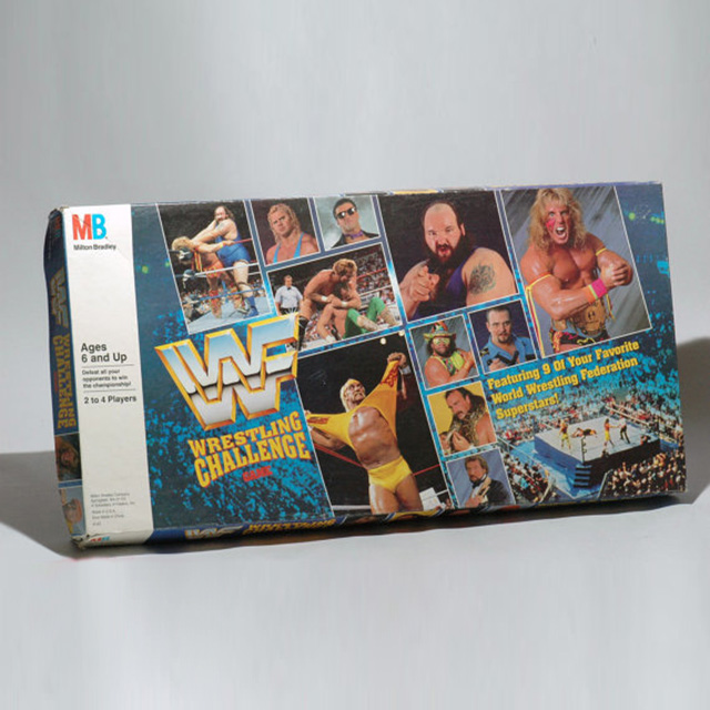 WWF Wrestling Board Game