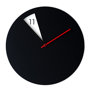 Blackout Clock