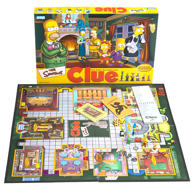 Clue: The Simpsons Edition