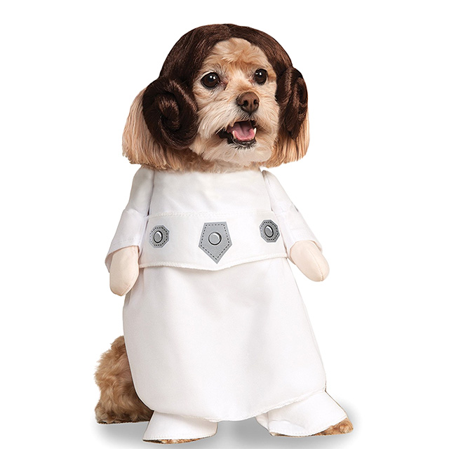Puppy Princess Leia