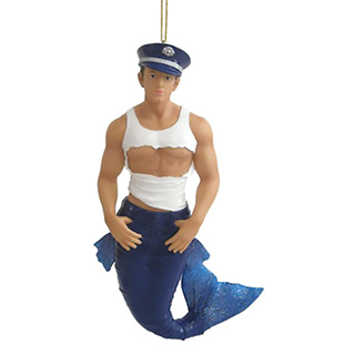 Sexy Merman Ornament