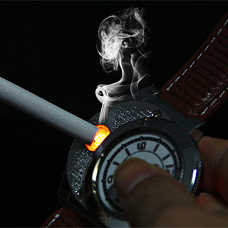 Windproof Lighter Watch