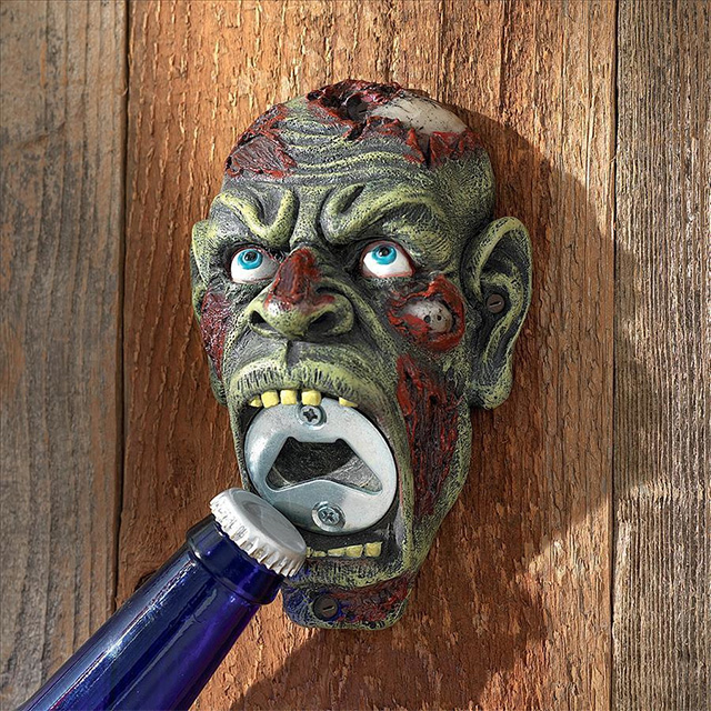 Zombie Head Bottle Opener