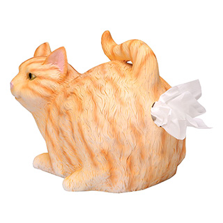 Cat Butthole Tissue Holder