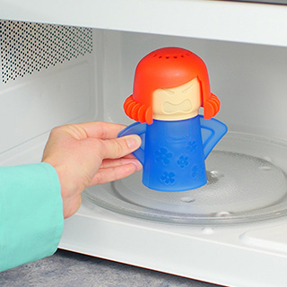 Easy Microwave Cleaner
