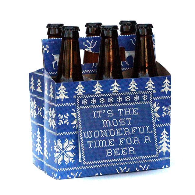 Six Pack Christmas Cards