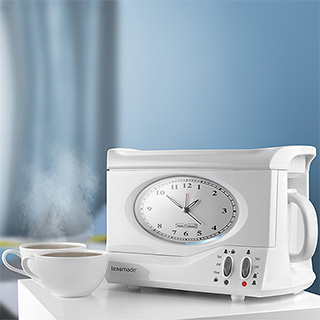 Tea Making Alarm Clock