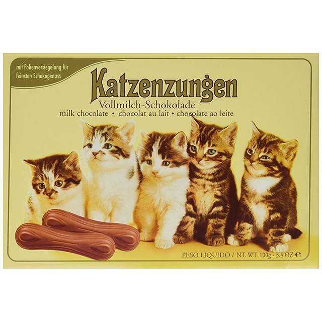 Chocolate Cat Tongues