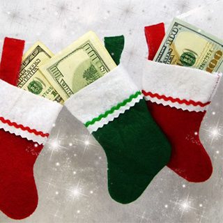 Christmas Cash Spending Bash