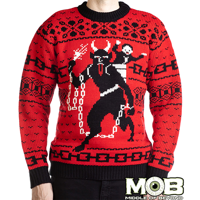 Knit Krampus Sweater