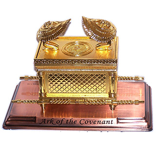 One-Tenth Scale Ark of The Covenant