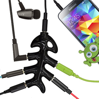 5-Way Headphone Splitter